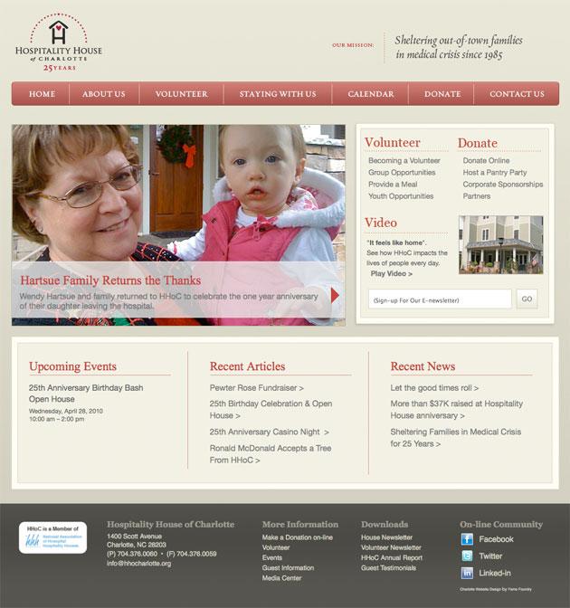 Hospitality House of Charlotte Homepage