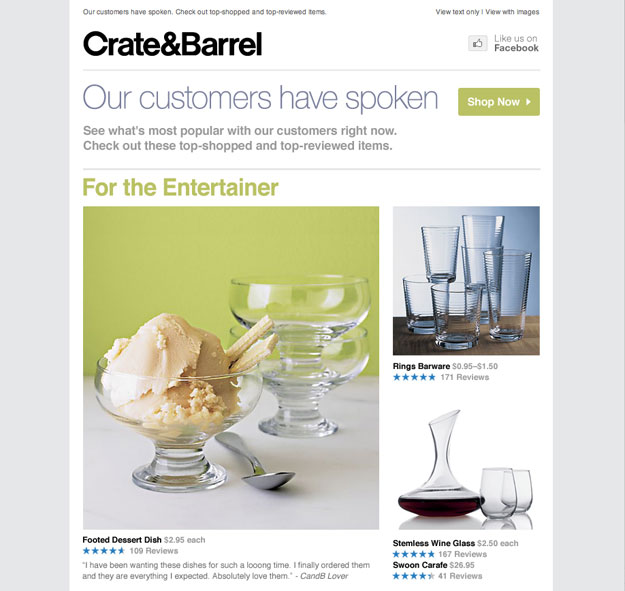 Crate&Barrel;