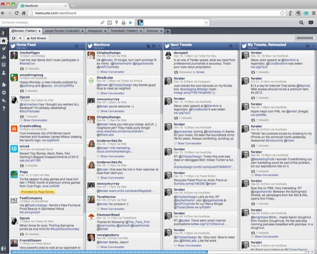 Hootsuite-browser